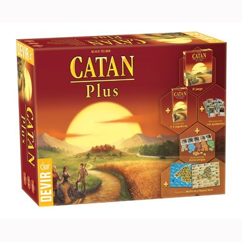 Colonos de Catan Plus